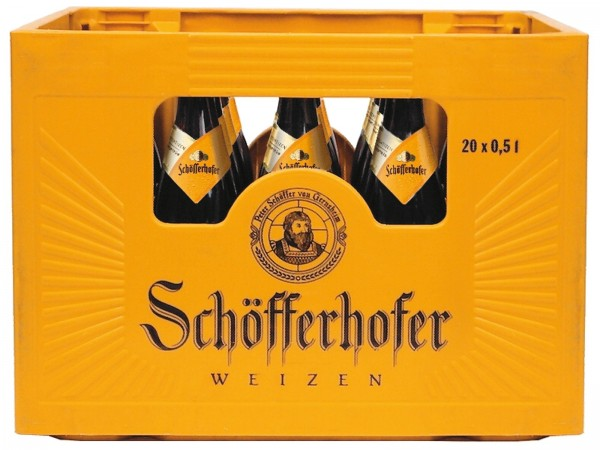 B1415 Schöfferhofer Hefe Hell 20 x 0,50l