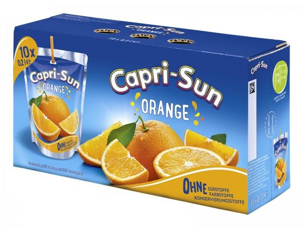 S2325 Capri Sonne Orange 10 x 0,20l
