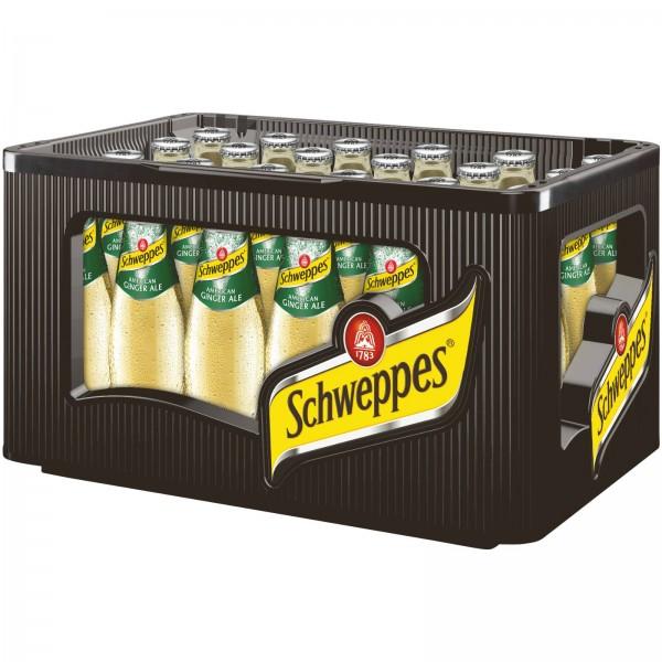 E3430 Schweppes Ginger Ale 24 x 0,20l