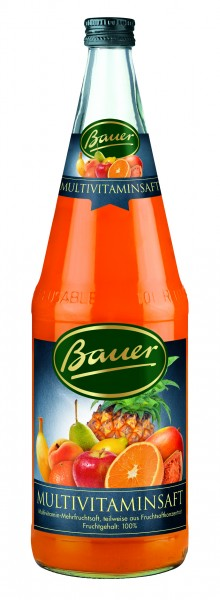 Bauer Multivitaminsaft 1,0l