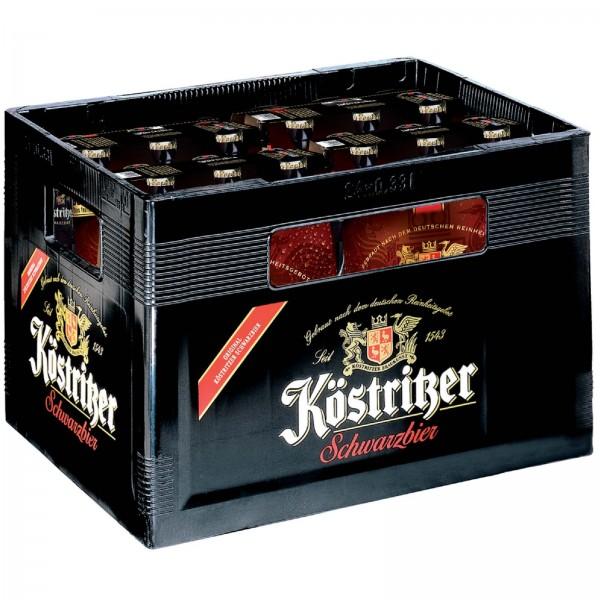 B1179 Köstritzer Schwarzbier 24 x 0,33l