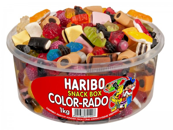 K5990 Haribo Color-Rado 1 Kg Box