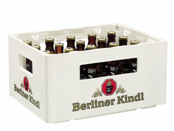 B1016 Berliner Kindl Jubiläum STEINI 20 x 0,33l