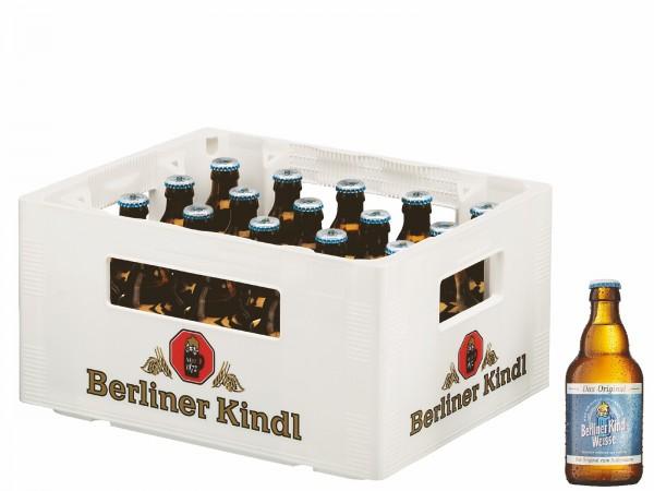 B1050 Berliner Kindl Weisse 20 x 0,33l
