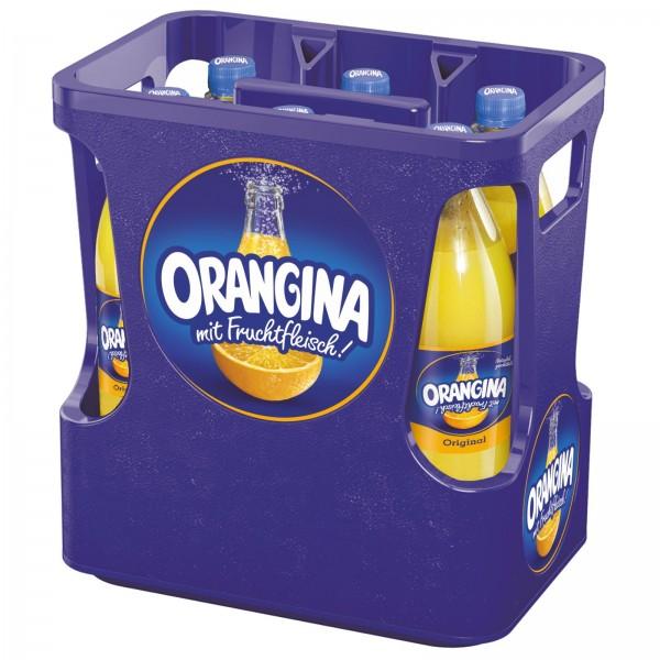 E3180 Orangina Original (gelb) 6 x 1,0l PET