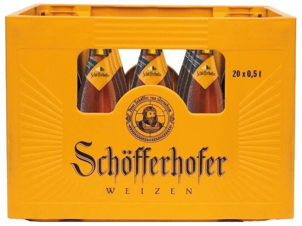 B1410 Schöfferhofer Hefe Dunkel 20 x 0,5l