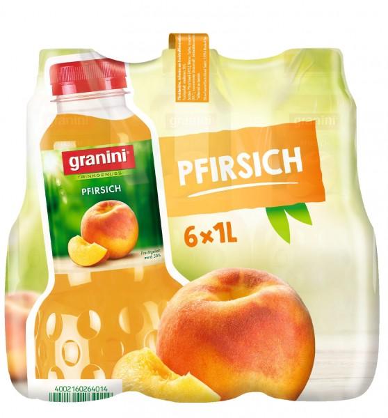 S2505 Granini Pfirsichnektar 6 x 1,0l