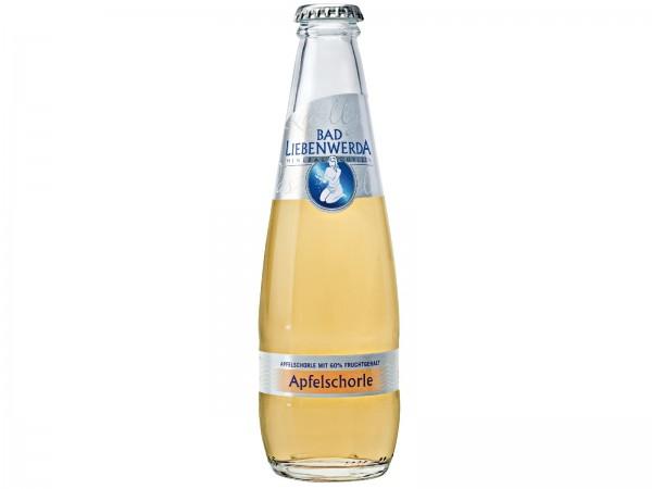 E3177 Bad Liebenwerda Apfelschorle 24x0,25l Glas