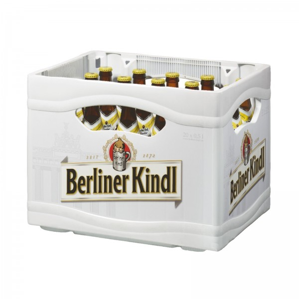 B1047 Berliner Kindl Radler 20 x 0,50l