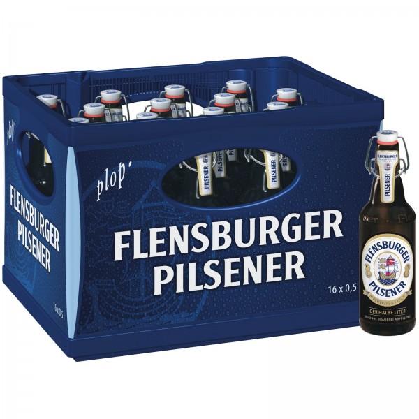 B1140 Flensburger Pilsener 16 x 0,50l