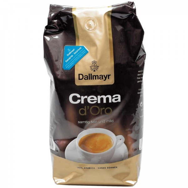 K5128 Dallmayr Crema d'oro (ganze Bohne)