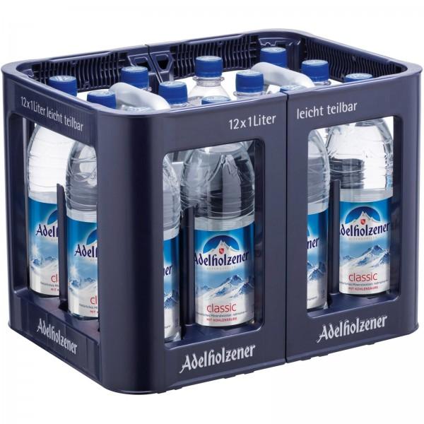 M4025 Adelholzener Mineralwasser 12x1,0l PET