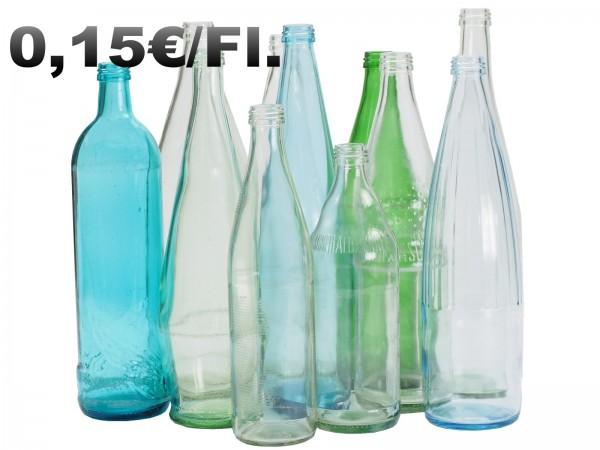L0015 Leergut Mehrwegflasche (Wasser, Limo, Saft) 0,15€