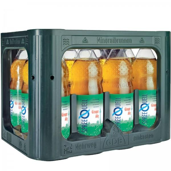 E3294 Spreequell Ginger Ale 12x1,0l PET