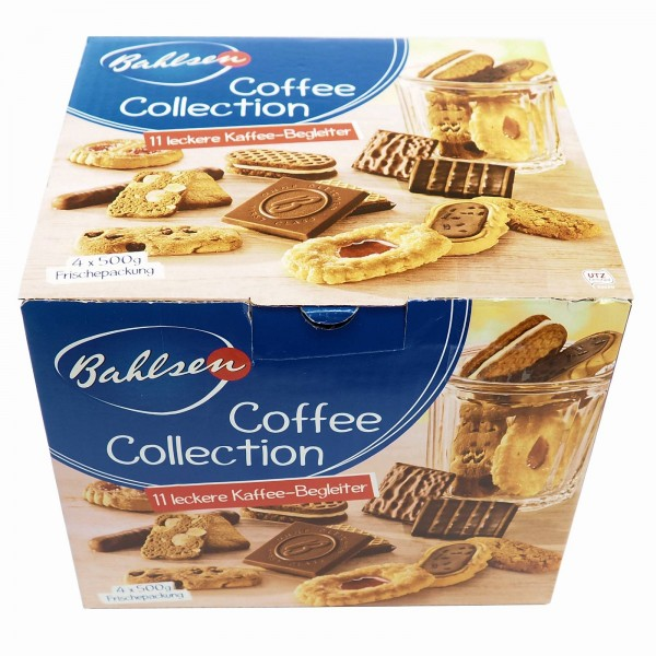 K5632 Bahlsen Coffee Collection 4x 500g