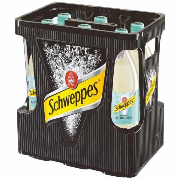 E3266 Schweppes Bitter Lemon 6 x 1,0l