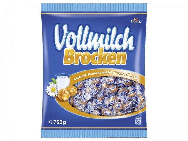 K6029 Storck Vollmilch Brocken 750g