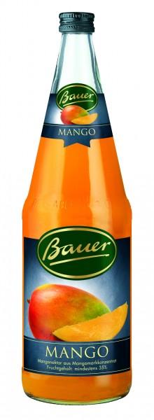 Flasche Bauer Mango 35% 1,0l
