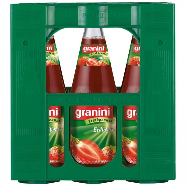 S2431 Granini Erdbeere 6 x 1,0l