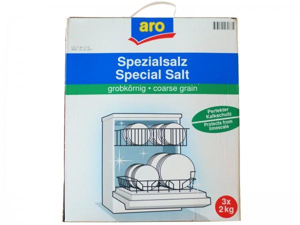 N6966 aro Spezial Spülmaschinensalz (3 x 2,0Kg)