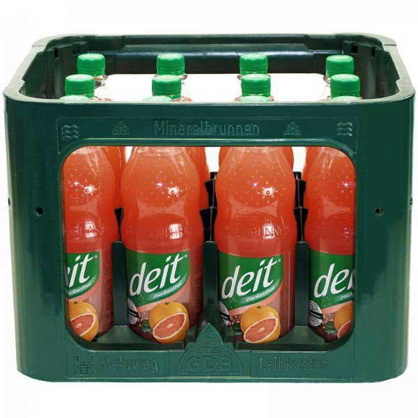 E3108 Deit Pink Grapefruit 12 x 1,0l PET