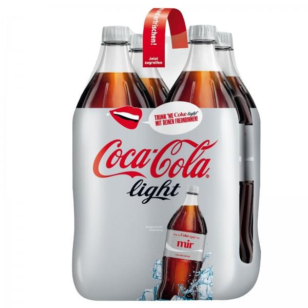 E3005 Coca Cola light 4 x 4,50l PET
