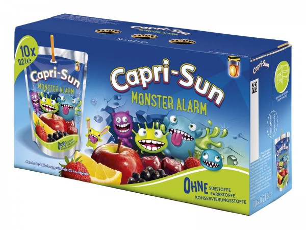 S2330 Capri Sonne Monster Alarm 10 x 0,20l