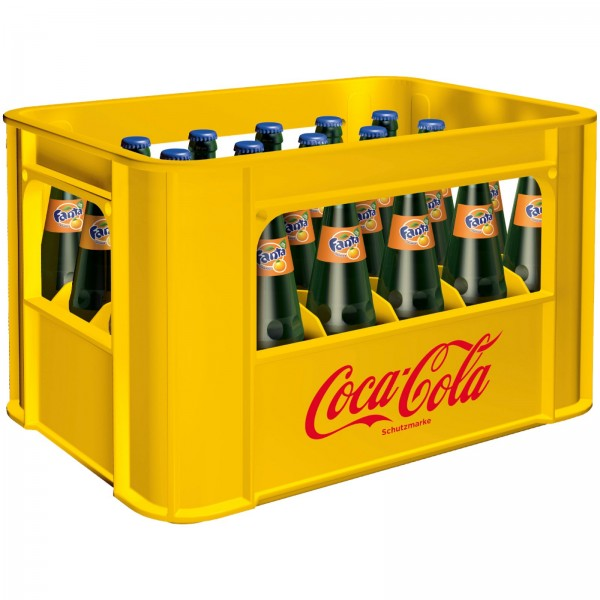 E3190 Fanta Orange 24 x 0,33l (Glas)