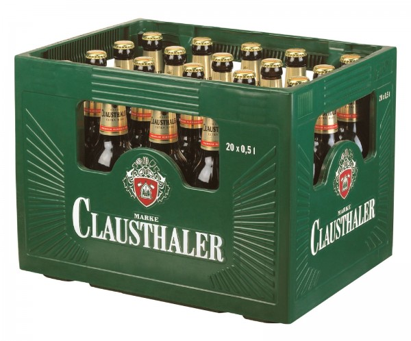 B1345 Clausthaler extra herb 20 x 0,50l