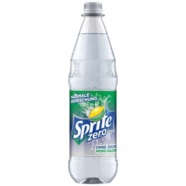 E0142 Flasche Sprite Zero 1,0l PET