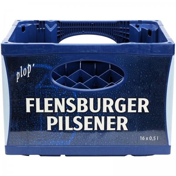 S1155 Leerkasten Bier Flensb 16 x 0,50l