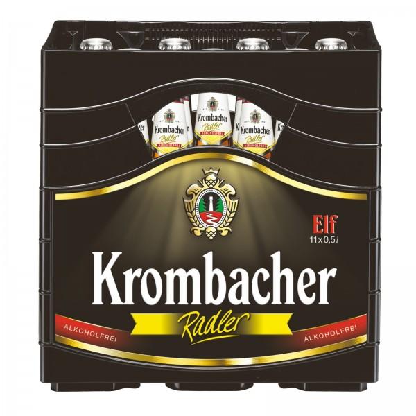 B1376 Krombacher Radler A-Frei ELF 0,50l