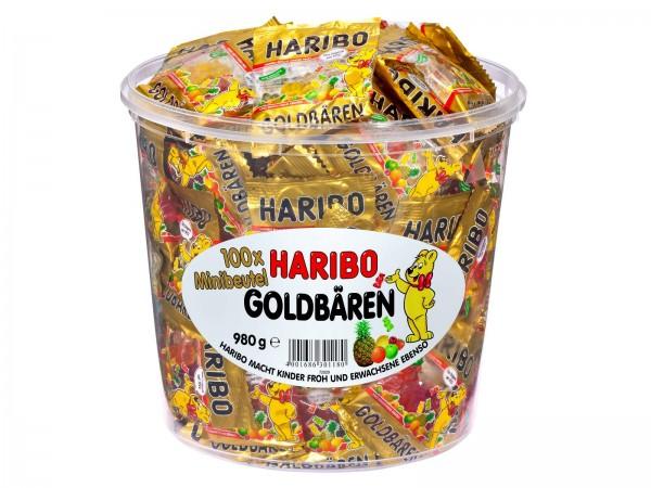 K6007 Minibeutel 100er Haribo Goldbären