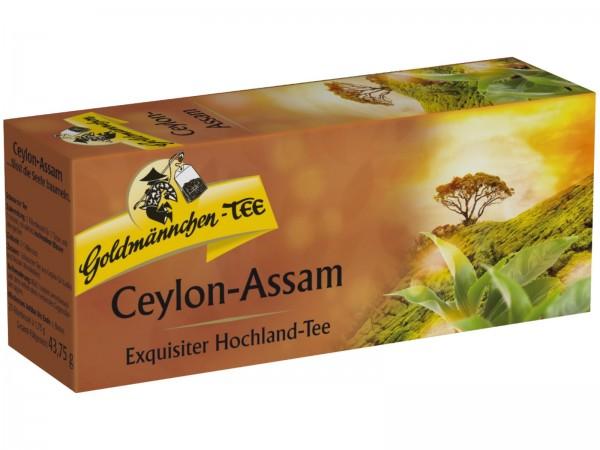 K5187 Goldmännchen Schwarzer Tee Ceylon-Assam 25er
