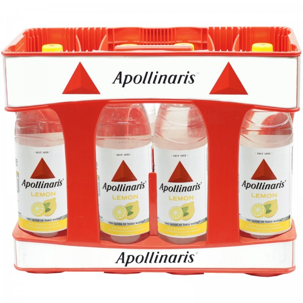E3225 Apollinaris Lemon 10x1,0l PET