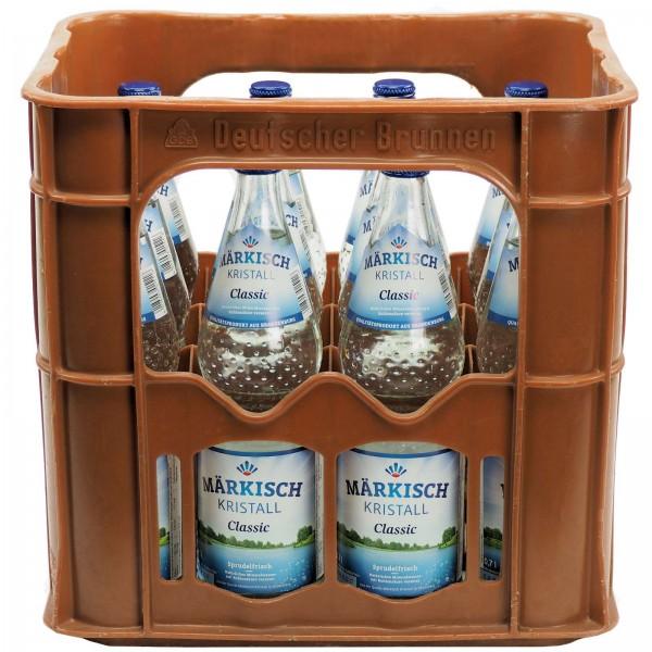 Wir liefern Ihnen in Berlin Märkisch Kristall Mineralwasser 0,70l ...