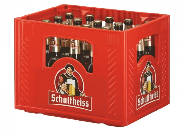 B1225 Schultheiss Pilsener 20 x 0,50l