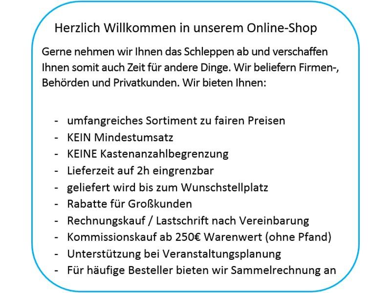 Getränke Lieferservice Berlin, Ihr preiswerter Getränkelieferant ...