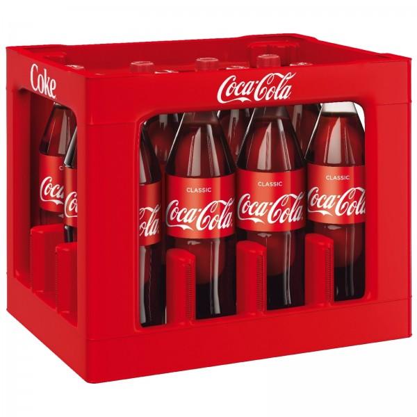 E3075 Coca Cola 12 x 1,0l