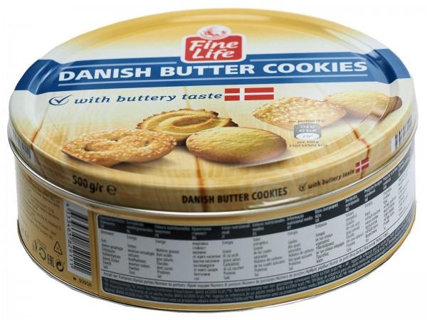K5648 Fine Life Danish Cookies 500g