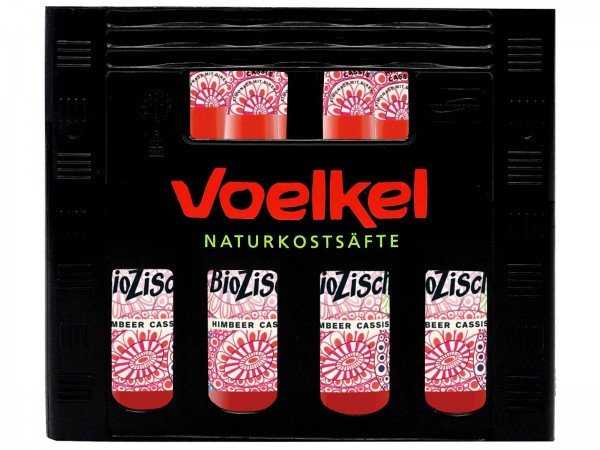 E3374 Voelkel BioZisch Himbeere-Cassis 12 x 0,33l