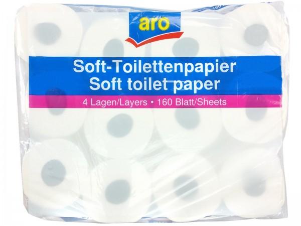 N6974 Toilettenpapier ARO 4lg 24 x 160 Bl.