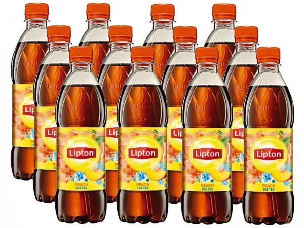 E3481 Lipton Ice Tea Pfirsich 12 x 0,50l Ew-PET
