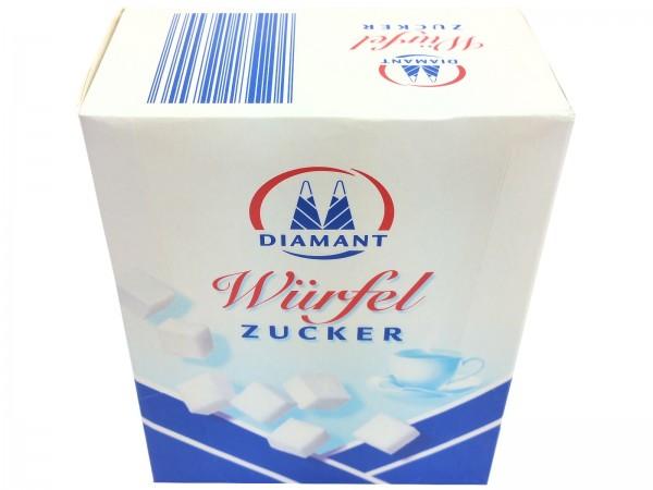 K5240 Diamant weisser Würfelzucker 500g