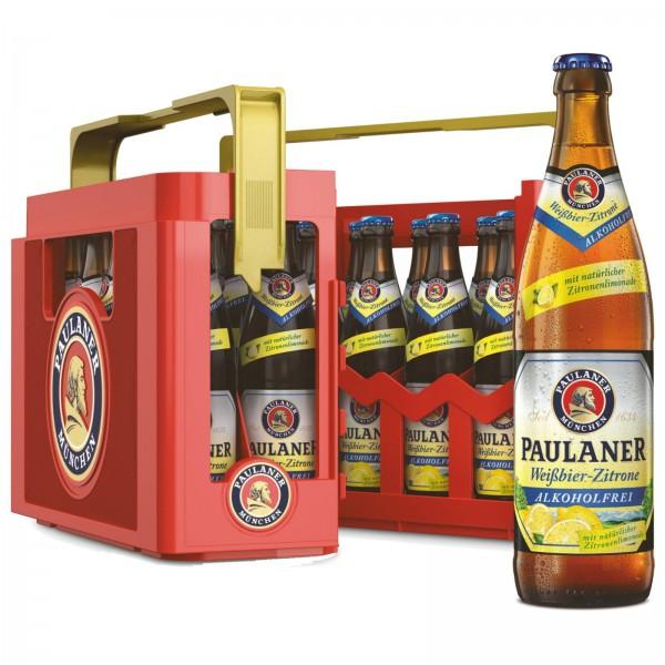 B1439 Paulaner  Alkoholfrei + Zitrone 20 x 0,50l