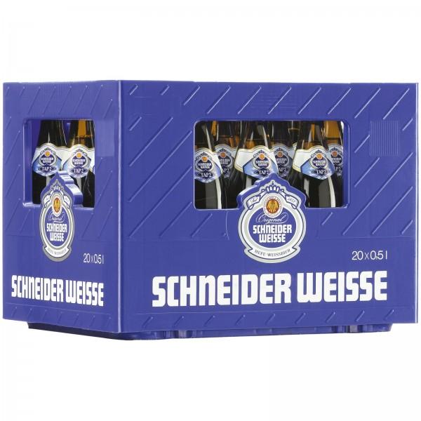 B1408 Schneider Weisse Kristall TAP2   20x0,50l