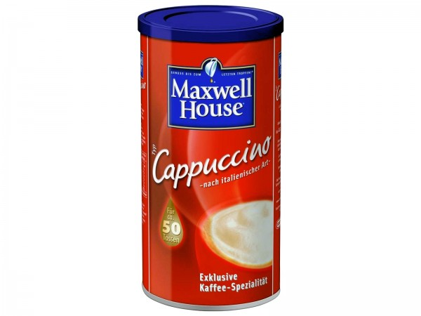 K5126 Jacobs Maxwell Cappucino Instant 500g Dose