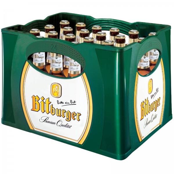 B1074 Bitburger Pils 24 x 0,33l