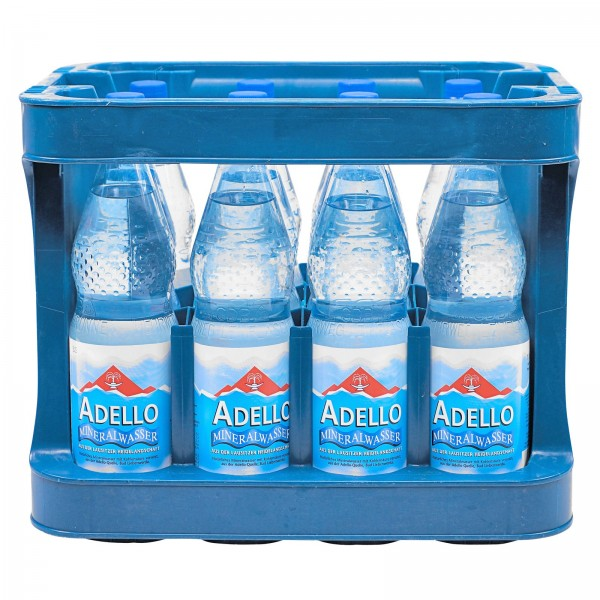 M4002 Adello Mineralwasser 12 x 1,0l PET