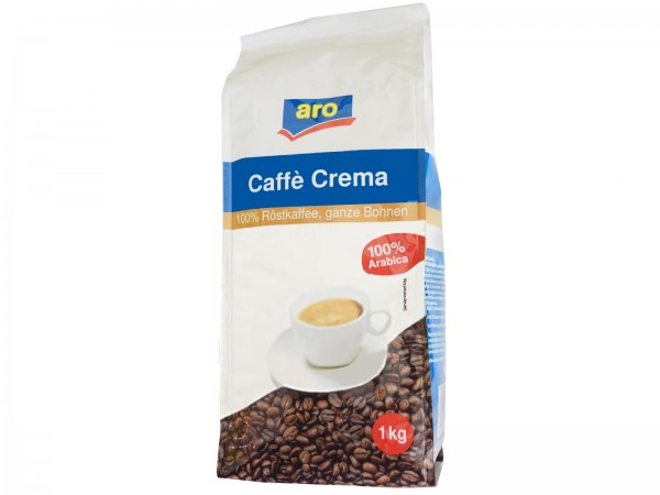 Aro Caffé Crema 1 Kg (Bohne)